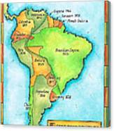 South American Independence Canvas Print