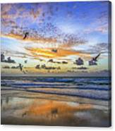 South Beach 12260 Canvas Print