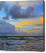 South Beach 3633a Canvas Print