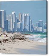 South Beach Baby Canvas Print