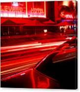 South Beach Red Canvas Print