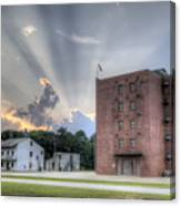 South Carolina Fire Academy Tower Canvas Print