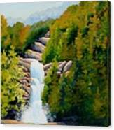 South Carolina Waterfall Canvas Print