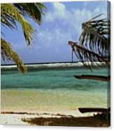 South Caye Belize Canvas Print