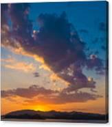 South China Sea Sunset Canvas Print