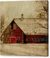 South Dakota Barn Canvas Print
