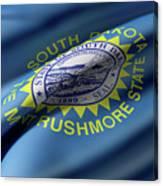 South Dakota State Flag Canvas Print