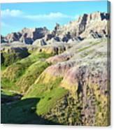 South Dakota's Badlands National Park Canvas Print
