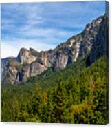 South End Of Half Dome Canvas Print