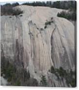 South Face - Stone Mountain Canvas Print