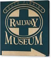 South Florida Railway Museum Canvas Print