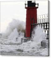 South Haven Lighthouse 3 Canvas Print