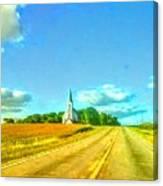 South Immanuel, On A Hill Far Away Canvas Print