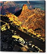 South Kaibab Trail - Grand Canyon Canvas Print