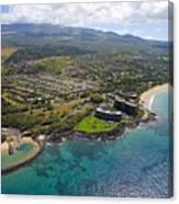 South Kihei Coastline Canvas Print