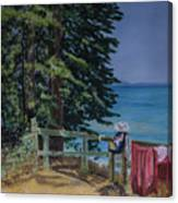 South Lake Tahoe Summer Canvas Print