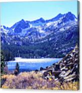 South Lake Canvas Print