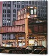South Loop El Canvas Print