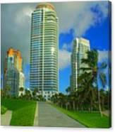 South Miami Beach Canvas Print