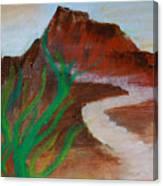 South Mountain Sunset Impression Canvas Print