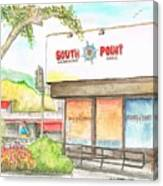 South Point Restaurant, West Hollywood, California Canvas Print
