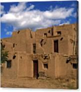 South Pueblo Taos Canvas Print