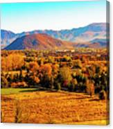 South Reno In Fall Canvas Print