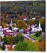 South Royalton Vermont Canvas Print