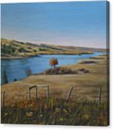 South Saskatchewan River Canvas Print