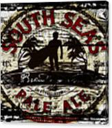 South Seas Pale Ale Sign Canvas Print