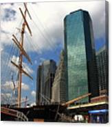 South Street Seaport - New York City Canvas Print