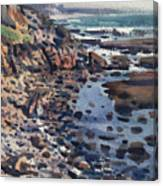 South To Pigeon Point Canvas Print