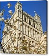 South Tower Exeter Cathedral Canvas Print