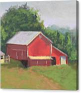 South View Of Meyer Farm Canvas Print