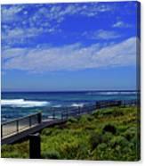 South West Coastline Canvas Print