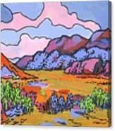 South West Landscape Canvas Print