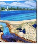 Southampton Dunes Canvas Print