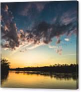 Southampton Sunset Canvas Print