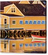 Southend Yacht Club Canvas Print