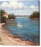Southern Como Cottage Canvas Print