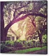 Southern Home #house  #coastalbeauty Canvas Print