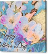 Southern Missouri Wildflowers -1 Mother's Day Card Canvas Print