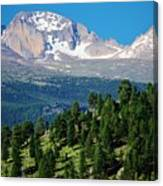 Southern Rockies Summer Mountains Canvas Print
