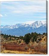 Southern Sawatch Vista Canvas Print