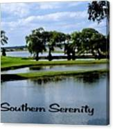 Southern Serenity Canvas Print