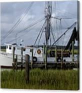 Southern Shrimpboat, Edisto Island, South Carolina  Canvas Print