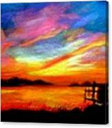 Southern Sunset Canvas Print