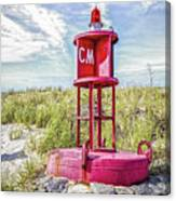Southernmost Point Buoy- Cape May Nj Canvas Print