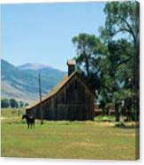 Southfork Barn Canvas Print
