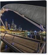 Southgate Bridge At Night Canvas Print